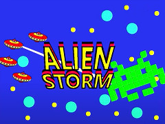 Alien Storm - C64, C128, VIC20 & Plus/4