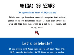 Amiga: 30 Jahre