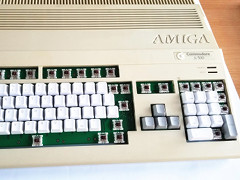 Amiga 500 mechanical keyboard