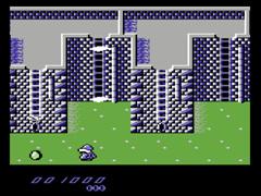 Bergbert III - The Blue Knight - C64
