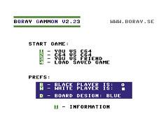 Boray Gammon - C64