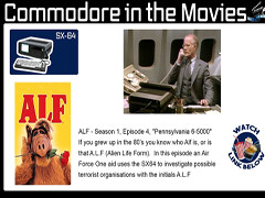 Bread Box - Commodore in de film
