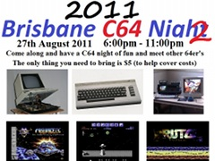 Brisbane C64 Night 2011