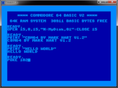 C64 Screensaver & Desktop Toy