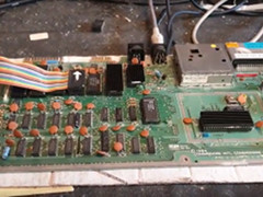 Cainers Commodore Capers - C64 reparatie