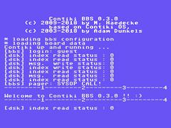 Contiki BBS V0.3.0