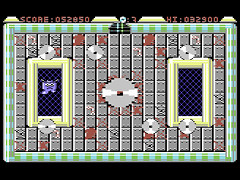 Death Saw Challenege - C64