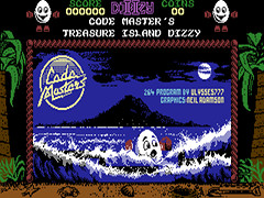 Dizzy II - Treasure Island Dizzy - Plus/4