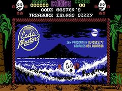 Dizzy II - Treasure Island Dizzy - Plus/4