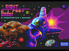 Eight Feet Under - C64, Plus/4 & Amiga