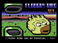 Flangry Bird 101 - C64