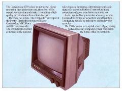 Commodore Monitor Information