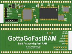 GottaGoFastRAM 8MB - A500/A1000/A2000/CDTV