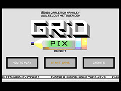 Grid Pix Advent - C64