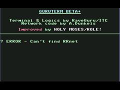GuruTerm+ - C64