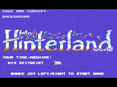 Into Hinterland World - C64