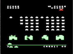 Invaders & Connect-4 - VIC20
