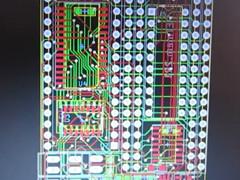 Iz8dwf - PET RAM/ROM płytka drukowana