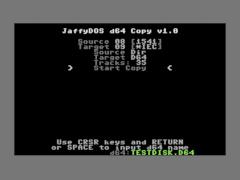JaffyDOS d64 Copy / Dump v1.0