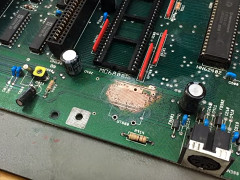 Jan Beta - Amiga 2000 repair