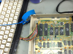 Jan Beta - C64c repair