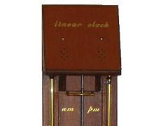 Jan Derogee - Lineares Uhr