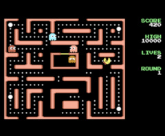 Lady Pac - C64