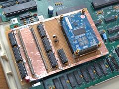 Amiga 500 FPGA akceleratorem