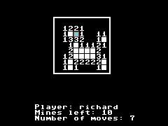 Mine Sweeper 2019 - C64