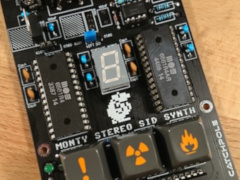 Monty - C64 Stereo 6581 SID Synth