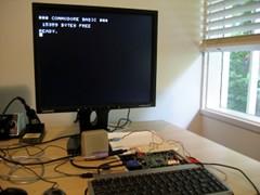 Commodore PET in a FPGA