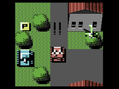 Panzer Patty's Pink Tank Adventure - C64