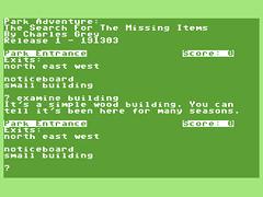 Park Adventure - C64