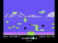 Planet Golf - C64