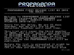 Propaganda List 2019/3