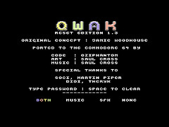 Qwak Reset Edition 1.3 - C128