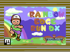Rainbow Edge Run DX - C64