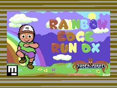 Rainbow Edge Run DX - C64