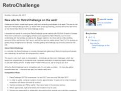 Retrochallenge 2017/10