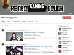 Retro Gaming Couch - PC10-III