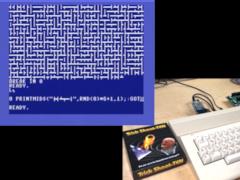 8-Bit Show & Tell - 10 PRINT Orthogonal