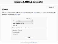 Scripted Amiga Emulator v0.9.10
