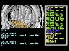 Survival Messenger Adventure - C64