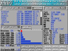 SysInfo 4.3 - Amiga