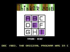 Thinker 2018 - C64