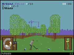 Top-hole Golf - C64