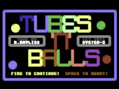 Tubes'n'Balls - C64