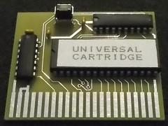 Universal C64 cartridge - 256 KB ROM
