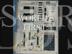 World's First: Single Board Computer KIM-1