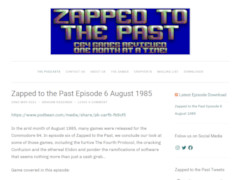 Zapped to the Past
